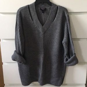 Macy's Gray sweater